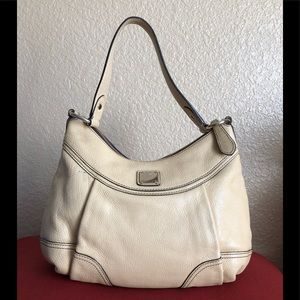 MCM Small Leather Hobo